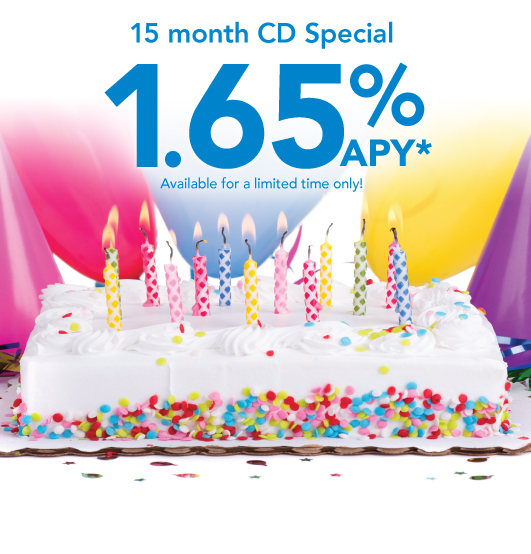 15 Month CD Special