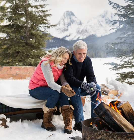 Plan for your retirement so you don't get left out in the cold.